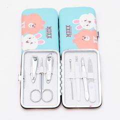 Series 7 nail sets (bear / rabbit) 7 in 1