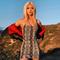 Dress Women Summer New snake dress strap dress xl Khaki