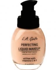 L.A Girl Liquid Make Up Medium Beige-GLM957