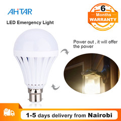 Ahitar B22 9W 7W LED Lighting Emergency Power Light Bulb Lights Saving Lamp Rechargeable for Home White as show 9W