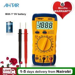 Ahitar A830L Digital Multimeter AMP AC DC Voltage Ammeter Capacitance Voltmeter Tester Battery