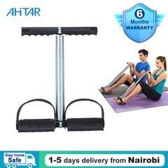 Ahitar Tummy Trimmer Portable Belly Elastic Sit Up Slimming Fitness Exerciser Foot Pedal Abdomen Gym as show one size