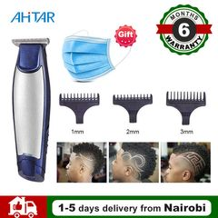 3 In 1 Rechargeable Electric Trimmer Cordless Hair Clipper Razor Balding Machine Beard Shaver AHITAR BLACK