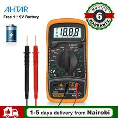 Digital Multimeter DMM AMP AC DC Voltage Ammeter Capacitance Voltmeter Tester Battery