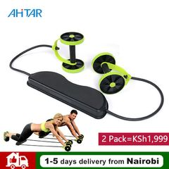 Buy 1 Get 1 Free Revoflex Xtreme Total Body Trainer Resistance Exercise Ab Roller Wheel Gym Home As Show One Size