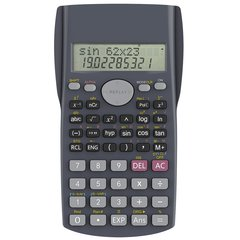 Display Scientific Calculations Calculator with 240 Functions Limited Edition Black