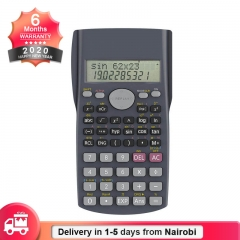 Multifunction Scientific Calculator with LCD Display Calculator for Examination(Battery Included) Black