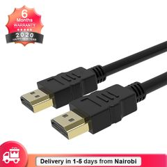 High Speed Gold Plated HDMI Cable Plug Male - Male 1.2M 1080P HD 3D black
