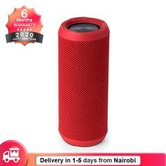Wireless Bluetooth Speaker Portable Waterproof HiFi Stereo Subwoofer Loud Speaker Red Normal