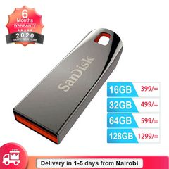 SanDisk Flashdisk USB 2.0 Flash Drive Cruzer Force Flash Disk 32GB 64GB Mini Pendrives CZ71 black SANDISK 128gb