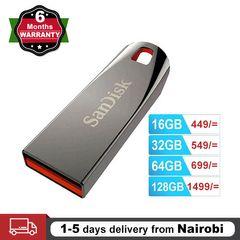 SanDisk Flashdisk USB 2.0 Flash Drive Cruzer Force Flash Disk 32GB 64GB Mini Pendrives CZ71 black SANDISK 64GB