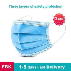 3PCS Face Mask Disposable Mask Mouth Protection Masks Anti-dust Fast Delivery 3PCS