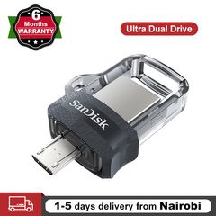 SanDisk OTG USB 32GB 64GB Flash Disk Ultra Dual Drive Memory Stick Android Micro Computer Flashdisk One Color Sandisk 64GB