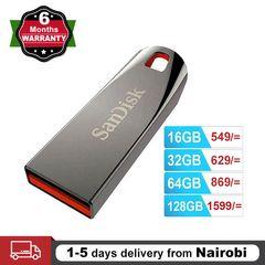 SanDisk Flashdisk USB 2.0 Flash Drive Cruzer Force Flash Disk 32GB 64GB Mini Pendrives CZ71 black SANDISK 32GB