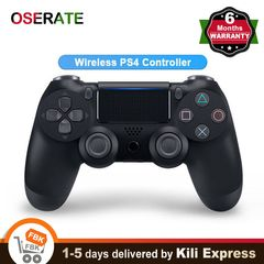 Wireless PS4 Controller Bluetooth Dualshock 4 Gamepad Playstation Console USB for iPhone Android PC Black one size