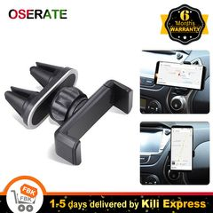 Car Holder Phone Mount Cell Phone Air Vent Clip Holder for Car with Adjustable Size Black one size