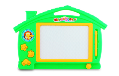 Cartoon Drawing Board Toy Scratching Graffiti Painting Children Educational Toys RD l