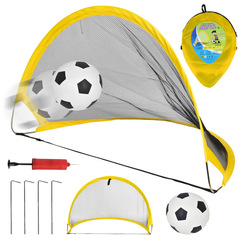 Portable Folding Goal Kids Football Net Football Door Set Football Gate Indoor Outdoor Toy