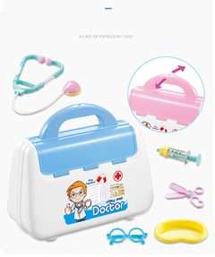 Doctor Kits Pretend Play Toy with Handy Carrying Case for Boys and Girls BU normal