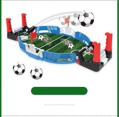 Mini Tabletop Soccer Game Interactive Desktop Training Football Toy Family Party bu normal