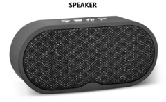 Bluetooth Speaker Portable Bluetooth SpeakerEnhanced Bass Noise-Cancelling Microphone BLACK NORMAL