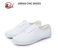 Athletic canvas shoes non- slip wear-resisting  antistatic working shoes men shoes and women shoes white 42
