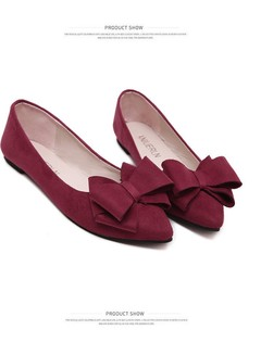Women Shoes Loafers Suede office shoes Fashion Super Promotion wine red 39