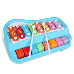 Kids Musical Toys Baby Infant Early Education Toys colorful 8 keys xylophone baby musical toys