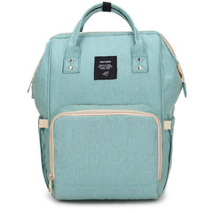 Mommy  Nappies Bags Travel Bags Mom Backpack Maternity Large Capacity Outdoor  Bags green 27*22*43