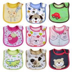 3 PCS Newborn Baby Bibs Waterproof Bib Bandana  Bibs For Kids Girls Boys Bib Baby Clothing stochastic 31*20