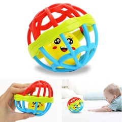 Baby Toy Fun Ball Ring Baby Intelligence Training Grasping Ability Rattles Baby Toys 0-12 Months soft fitness ball 9.5*9.5
