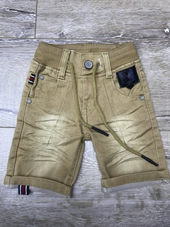 Boys shorts  colour jeans fashion for Christams cute  lovely for baby shorts Yellow 8M