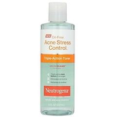 Neutrogena Acne Stress Control Triple-Action Toner (Oil-free) blue