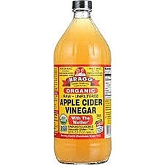 Bragg Apple Cider Vinegar Organic 16oz (Raw/Unfiltered) With ' The Mother' Brown