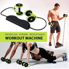 Revoflex Xtreme Home Total Body Fitness Abdominal Trainer green one size