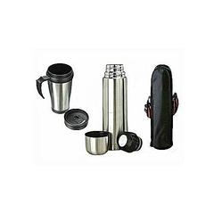 Vacuum Flask +Travel Mug + FREE Bag
