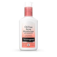Neutrogena Oil-Free Acne Face Moisturizer (Pink Grapefruit) white