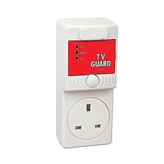 TV Voltage Guard, Surge Protector White One Size