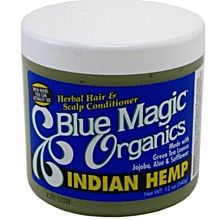 Blue Magic Herbal Hair & Scalp Conditioner (Indian Hemp) multicolour 12 oz