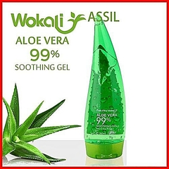 Aloe Vera Soothing Gel, Sunburn Repair Gel Green