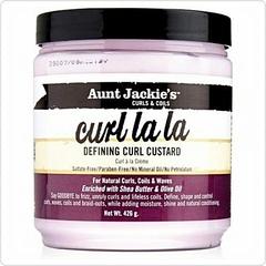 Aunt Jackie's  Curl La La Defining Curl Custard white 426g