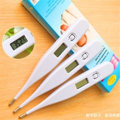 Infant child adult Digital Thermometer Waterproof digital LCD thermometer Temperature Measuremen white For children and adults