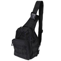 Outdoor Shoulder Military Backpack Camping Travel Hiking Trekking Bag KHAKI one size