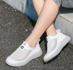 Kids Sports Shoes Breathable Sneakers Casual Soft Shoes Athletic Shoes white 26