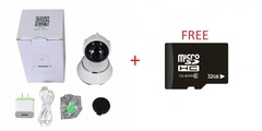 WIFI HD Nanny Camera With Phone Monitoring, Night Vision, Cloud Storage And Rotation Plus 32GB MEM