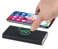 Power Bank With Wireless Charging Black 10000