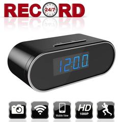 Clock Camera - 1080P HD With IR Night Vision And Motion Detection