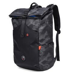 Latest Style Waterproof Laptop Backpack 15.6 Inch for Men  Roll-top Anti-Theft  Daypack School Bag camouflage black one size