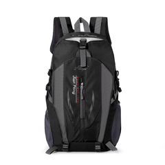 Hiking Backpack Trekking Travelling Cycling Backpack Riding Rucksack Mountaineering Outdoor Sports black one size