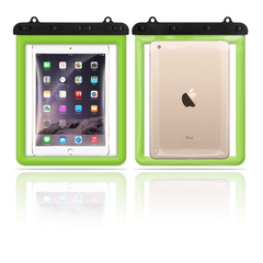 Universal iPad Waterproof Case transparent touch screen mini waterproof case.Buy 10 pieces per order green one size
